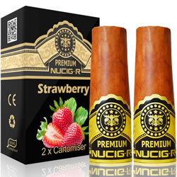 A Electric rechargeable cigar filter pack - STRAWBERRY