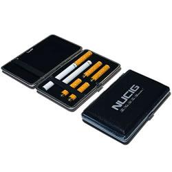 A Black electronic cigarette case