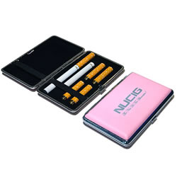 A Pink electronic cigarette case