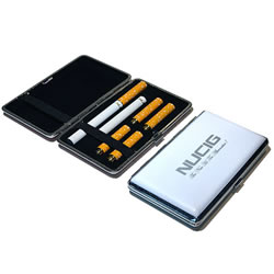 A White electronic cigarette case