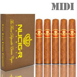 A Disposable electronic cigar Midi x 5
