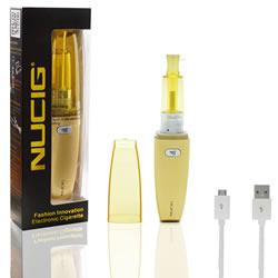 A Gold E-lipcig Electronic cigarette