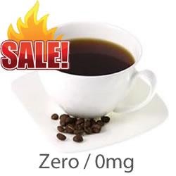 VG E liquid Coffee Zero 0mg