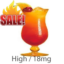 VG E liquid Fruit Cocktail 18mg