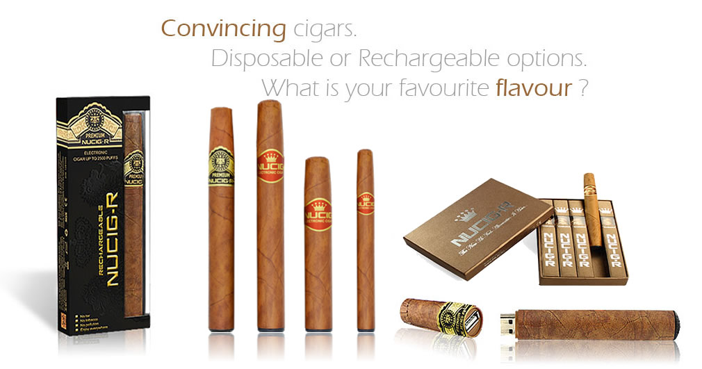 Electronic cigars by NUCIG