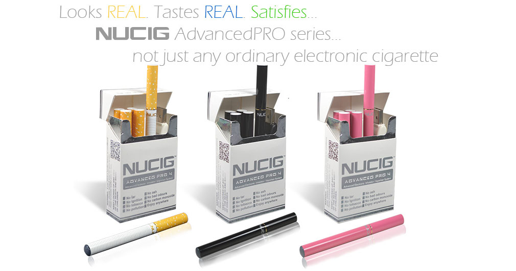 Electronic cigarettes by NUCIG UK