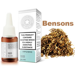 NUCIG 70PG/30VG E liquid Bensons Flavour