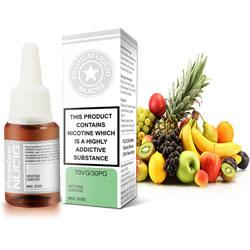 NUCIG 70VG/30PG E liquid Fruity Feast Flavour