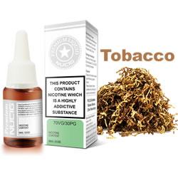 NUCIG 70VG/30PG E liquid Tobacco Flavour