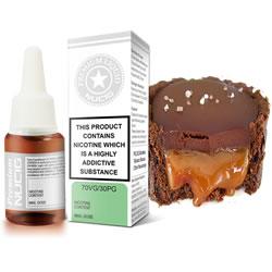 NUCIG 70VG/30PG E liquid Toffee Caramel Fudge Flavour