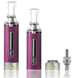 A Purple EVOD Tank IV Clearomiser by NUCIG