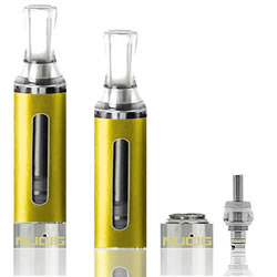 A Yellow EVOD Tank IV Clearomiser by NUCIG
