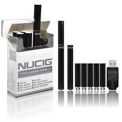NUCIG Advanced PRO 4 - BLACK  Set