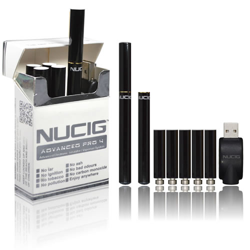 NUCIG Advanced PRO 4 - BLACK  Set