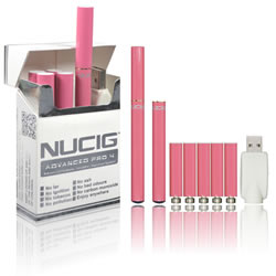 NUCIG Advanced PRO 4 - PINK Set