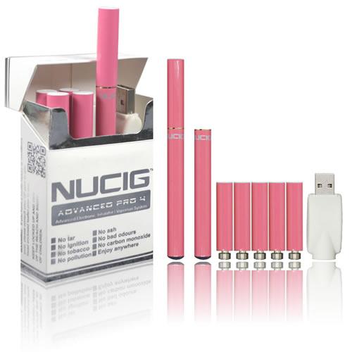 NUCIG Advanced PRO 4 - PINK Set