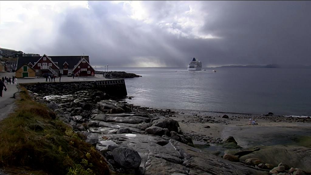 Turister til Nuuk