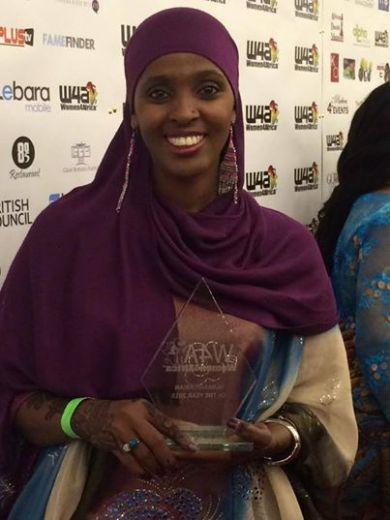 In 2015, Ifrah Ahmed received the prize 'Humanitarian of the Year' by the organization Women4Africa.