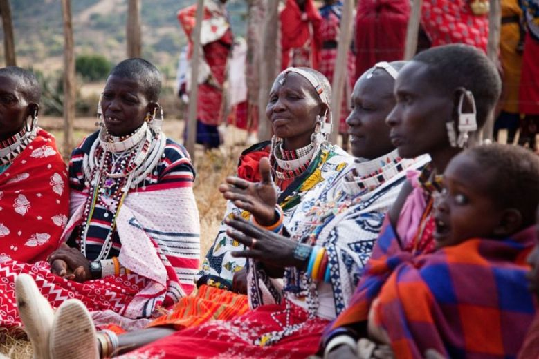 A group of Traditional Birth Attendants (TBAs) discuss the Alternative Rite of Passage