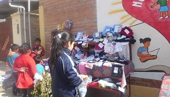 Apadrinamiento de profesores de los colegios de Mallorca con el Colegio de Trujillo (Perú)