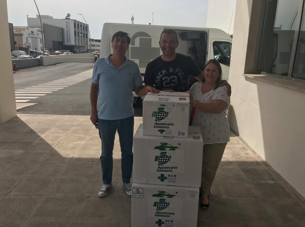 Donación de Medicamentos para el Hospital de La Paz