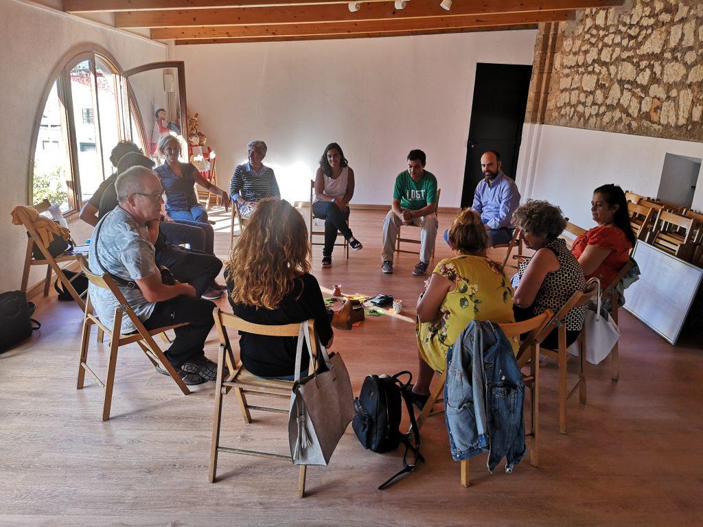 Reunión de voluntarios del Proyecto Encuentro
