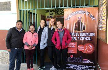 Bienvenida y encuentro de voluntariado en El Alto de la Paz (Bolivia)