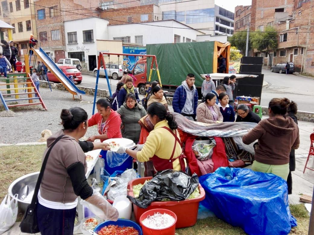 Kermesse en La Paz
