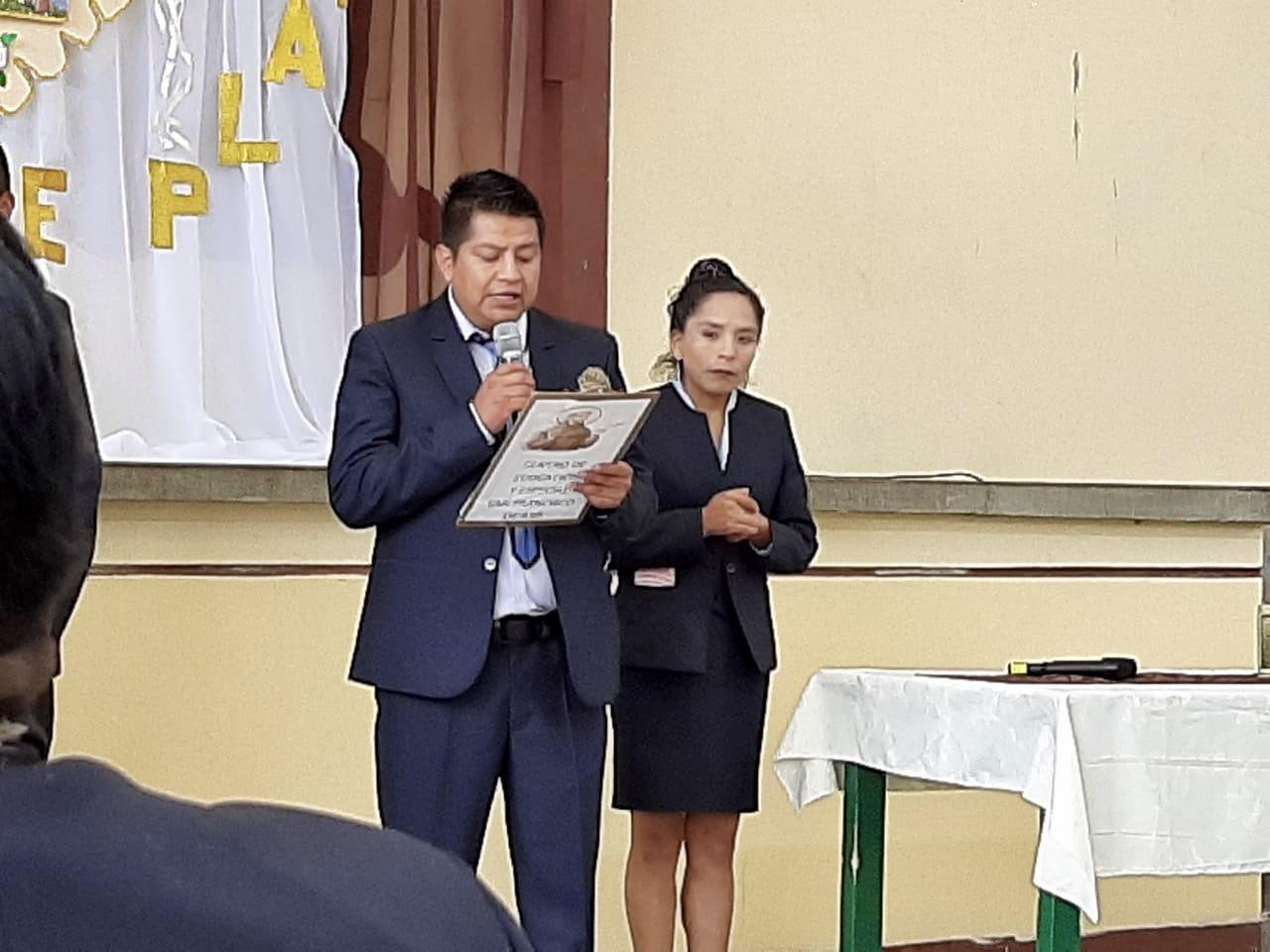 Octubre comienza con mas actividades en El Alto (Bolivia)