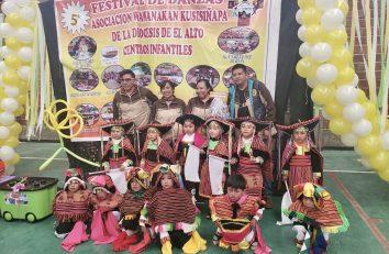Festival de Danzas en El Alto