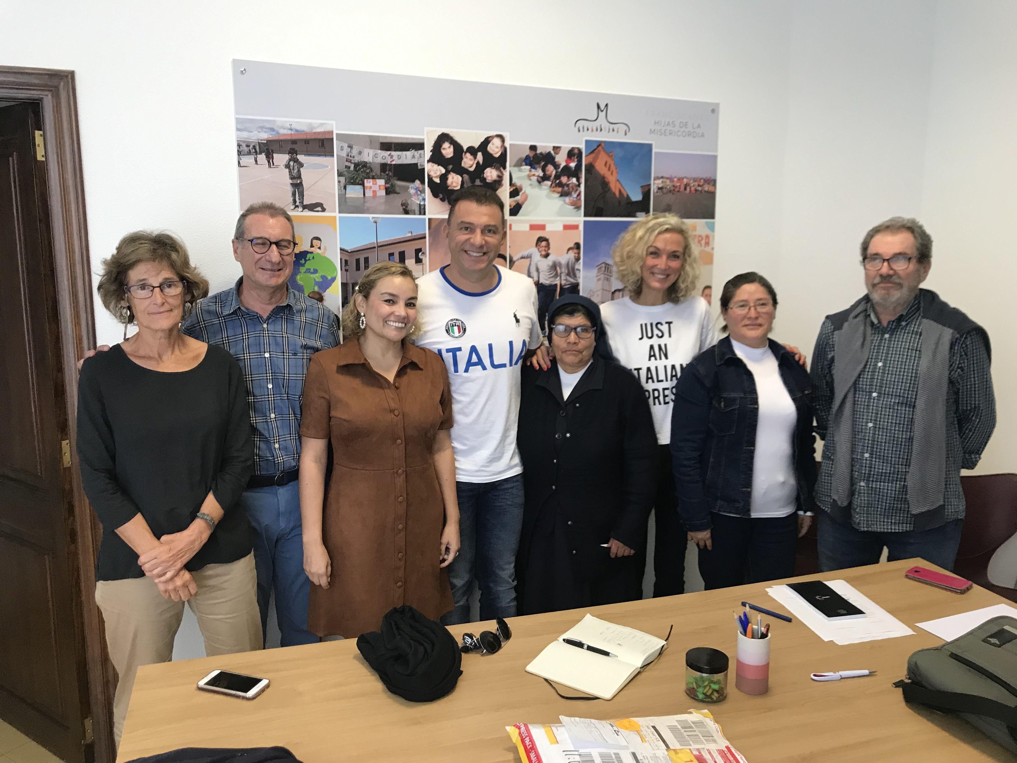 Encuentro con entidades colaboradores MISOL FRANCISCANAS