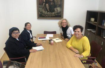 Reunión con la Delegada de Misiones