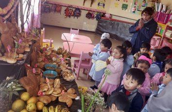 Celebración de Todos los Santos en Bolivia