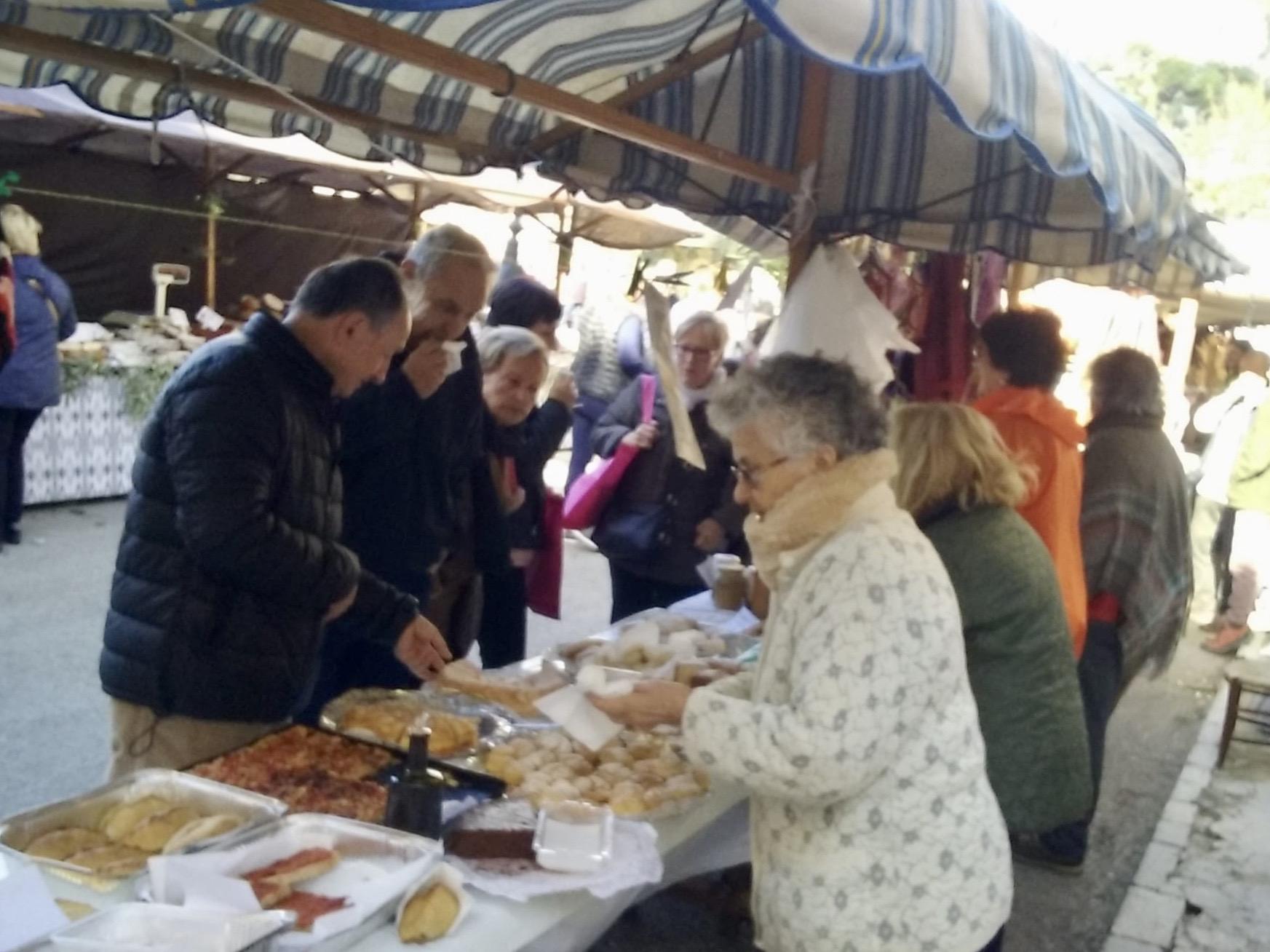 MISOL FRANCISCANAS en la Feria de la Oliva de Caimari (Mallorca)