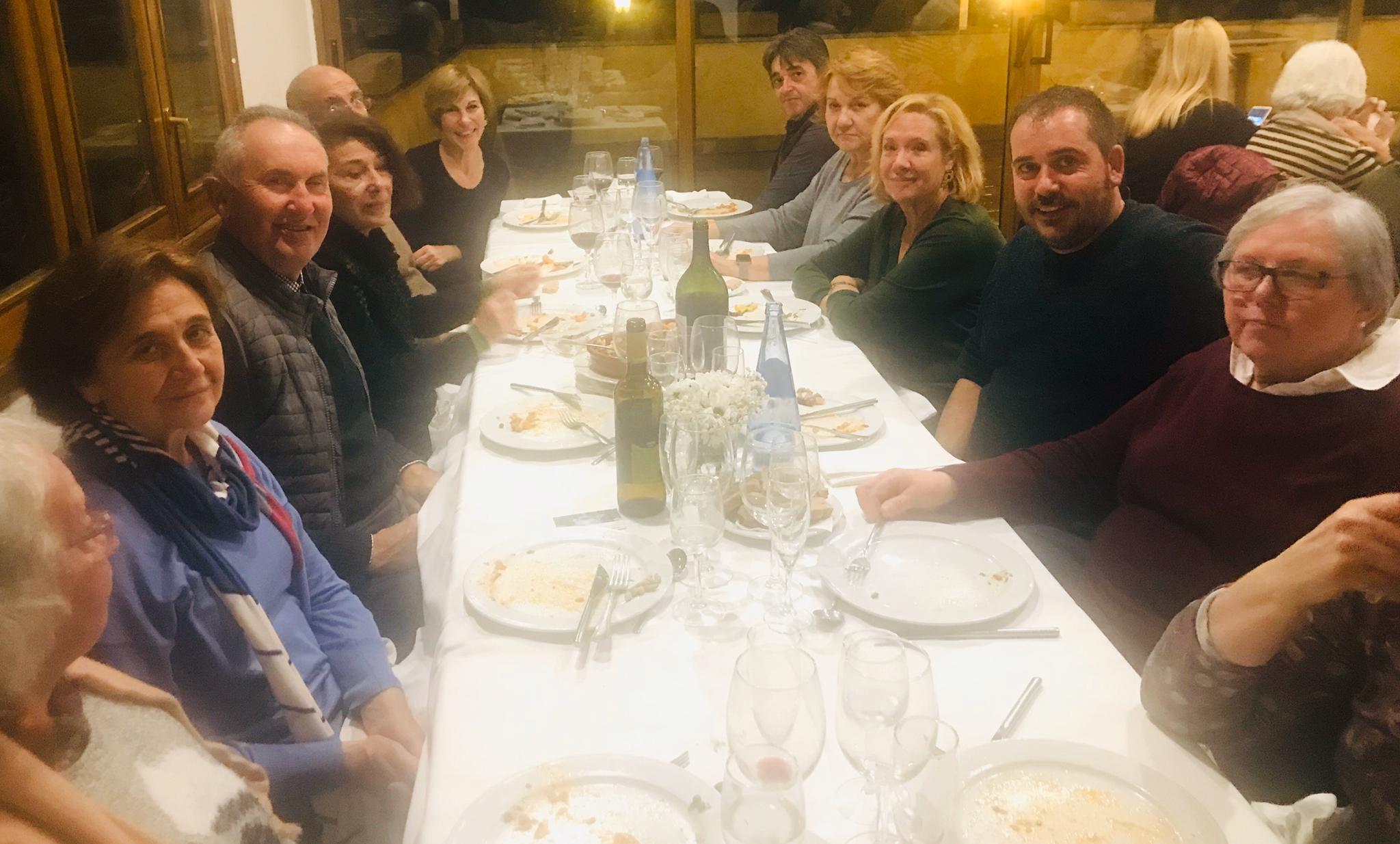 Cena solidaria en Selva (Mallorca)