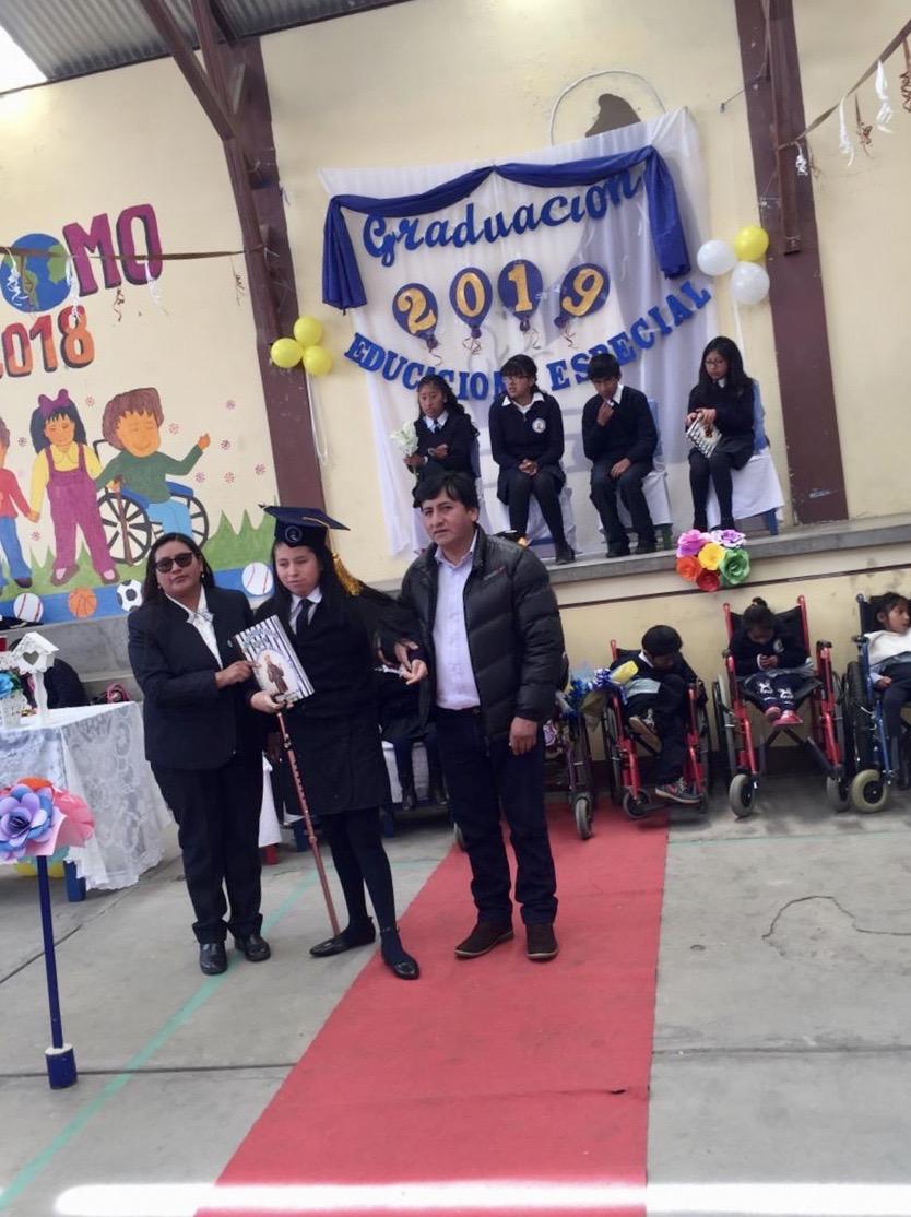 Graduación 2019 en el Centro San Francisco de Asís de El Alto (Bolivia)