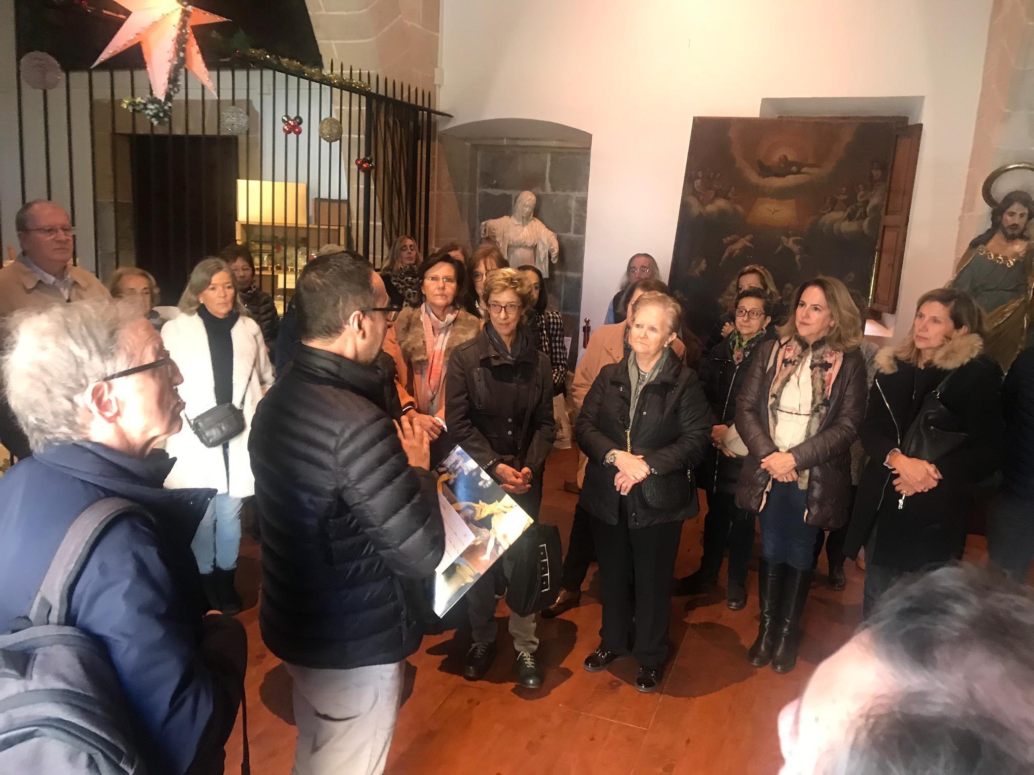 Visita cultural-solidaria al Belén de la Fundación Bartolomé March