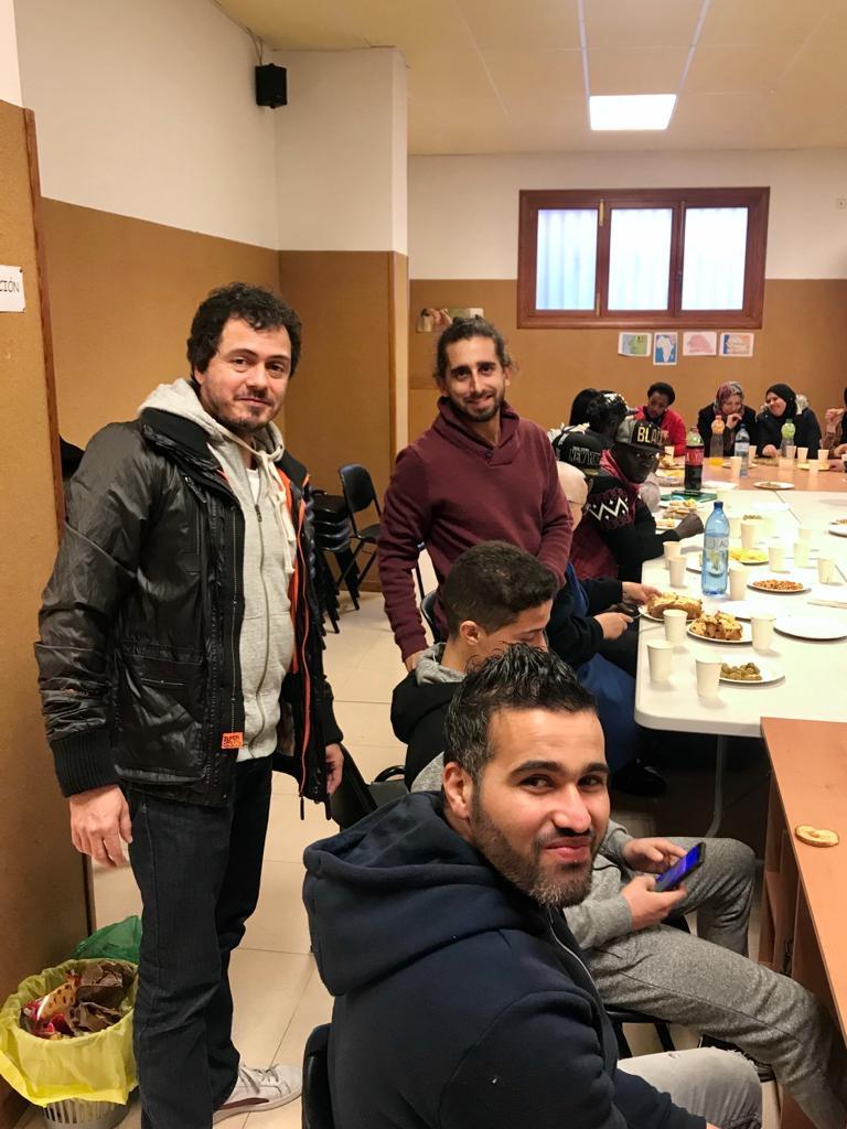 Celebración Navideña en nuestro proyecto de alfabetización Meraki de Palma ( Mallorca)