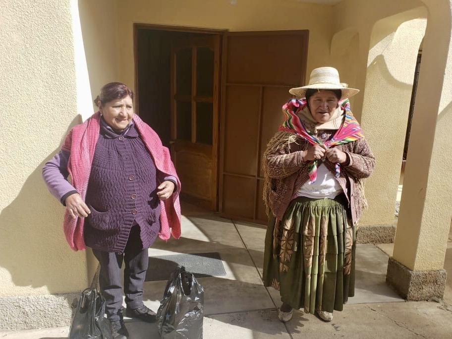 Solidaridad con las familias de El Alto (Bolivia)