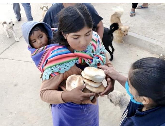 Solidaridad en Sucre (Bolivia)