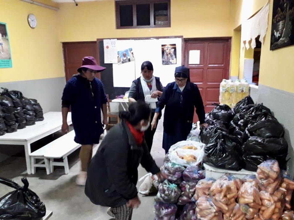 MISOL con los más vulnerables de Villa El Carmen (La Paz-Bolivia)