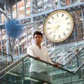 Conrad Shawcross Unveils His 2017 Artwork For Terrace Wires Commission At St Pancras International