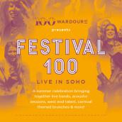 Festival 100 Flyer