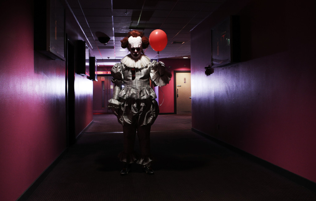 Chilling immersive screening of the new motion picture IT, London, 6th September 2017