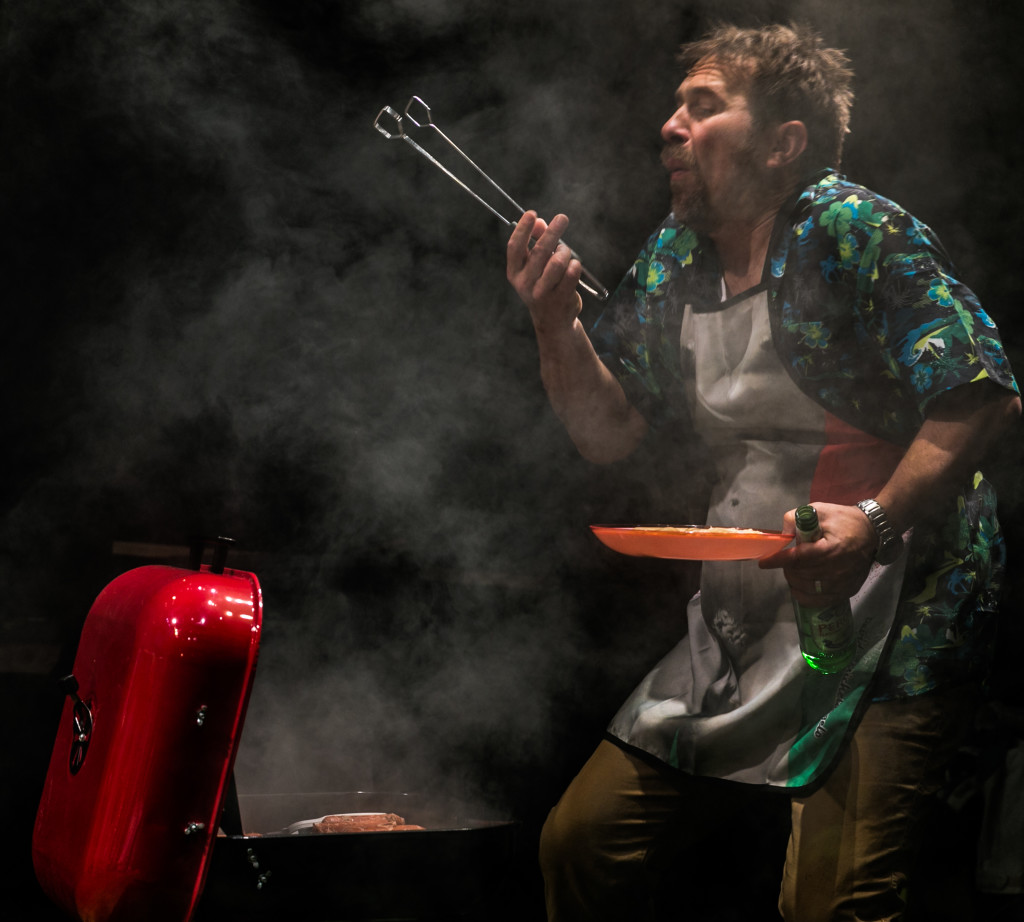 Jason Merrells in Twitstorm at Park Theatre. Photo by Darren Bell 0046