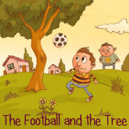 The Football and the Tree – Illustrated by Etzion Goel - by Mel Rosenberg - מל רוזנברג