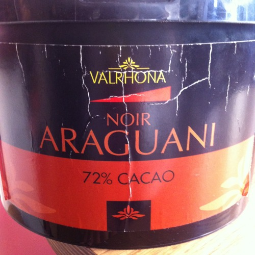 araguani chocolate. rich and spicy