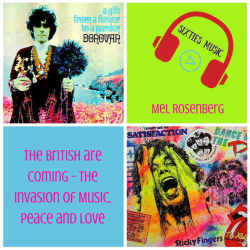 Artwork from the book - Music of the Sixties – Evolution of the Revolution – Catalogue, Summary and Links to Books by Mel Rosenberg - מל רוזנברג - Ourboox.com