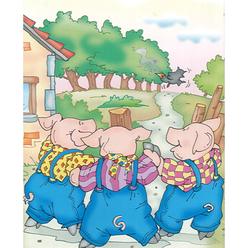 The Three Little Pigs  Ourboox