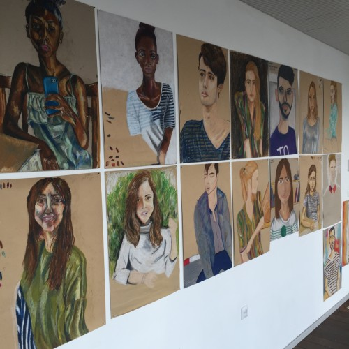 Artwork from the book - Portrait Selfies, with Shir Shvadron at Shenkar College by Mel Rosenberg - מל רוזנברג - Ourboox.com
